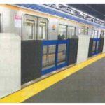 【南海】なんば駅にホームドアを試験的に設置開始