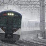 【京阪】3003Fの前面に変化…鳩マークを入れる?