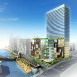 なんばHatch近くの「キャナルテラス堀江」裏側に31階建てビルの再開発計画があることが判明