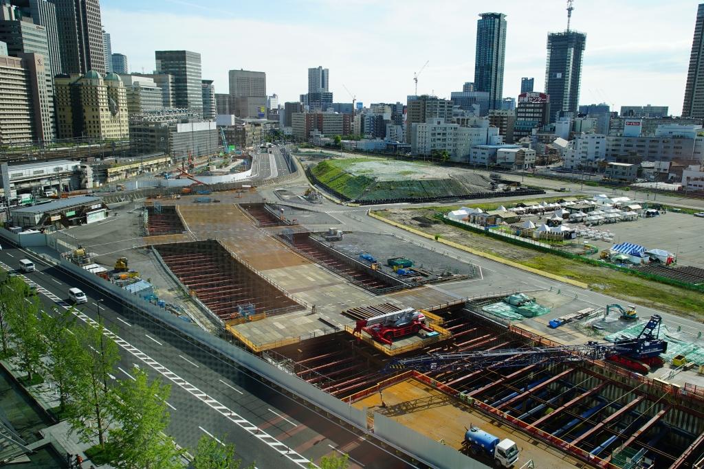 【2018/05】JR北梅田駅(うめきた)の工事状況を見てきました