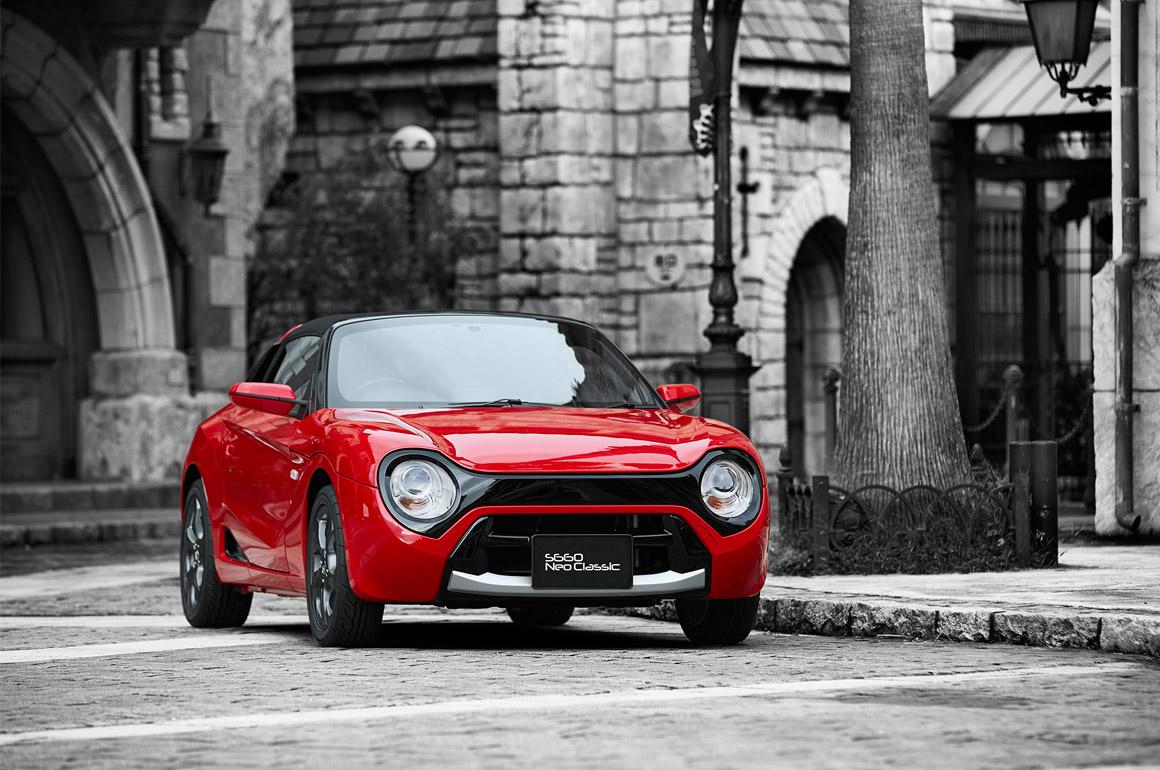 【Honda】クラシカルでかわいい「S660 Neo classicキット」を発売へ