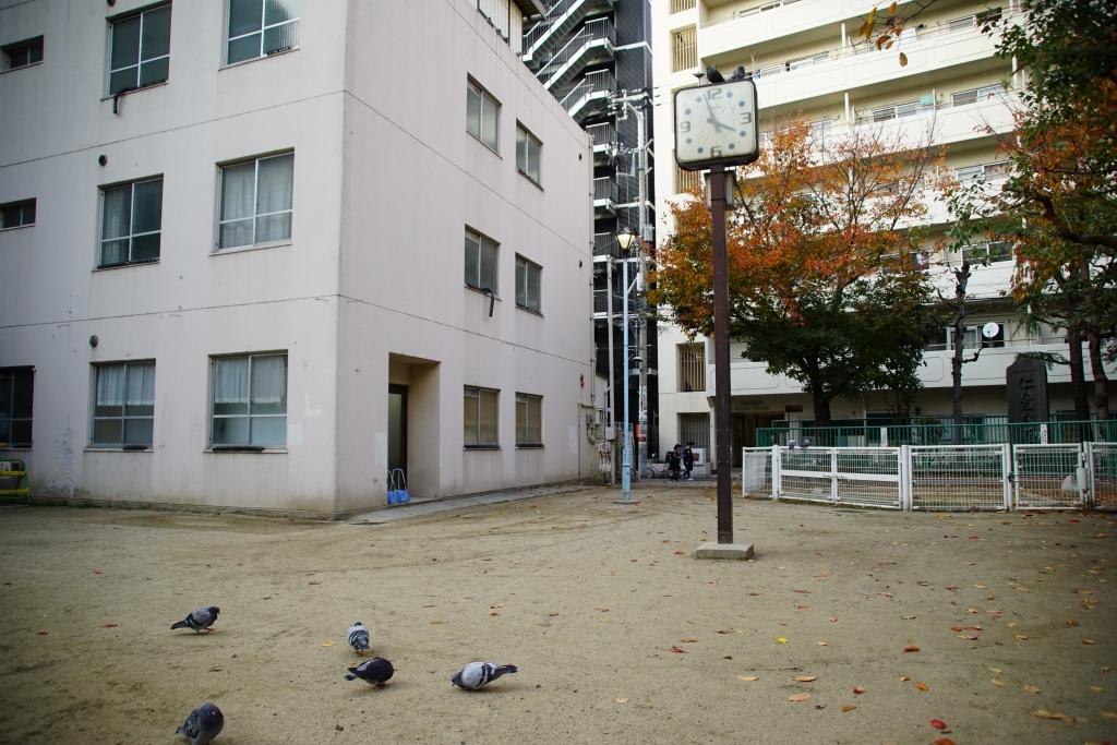 【大阪】「漫才禁止」の難波千日前公園を見てきました