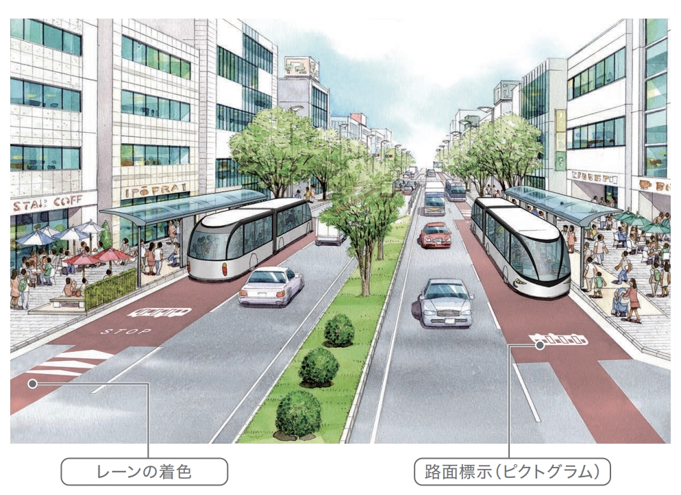 名古屋市が「SRT」構想を発表。市内を横移動出来る道路交通機関