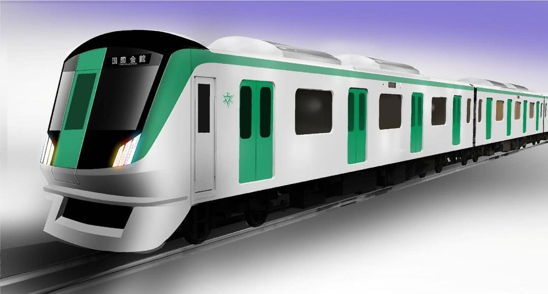 【京都市営地下鉄】烏丸線の新型車両、デザインコンセプト案発表