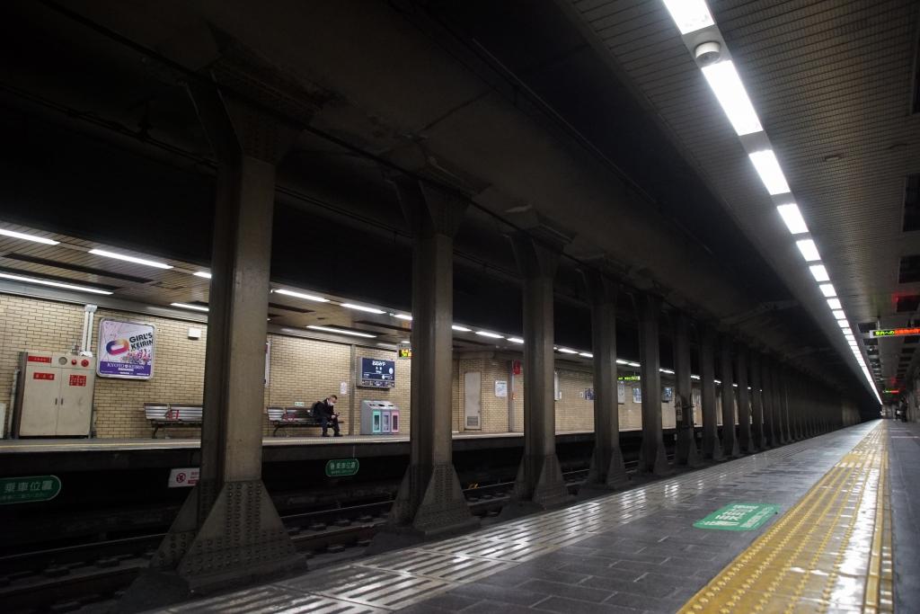 関西初、日本で三番目の地下駅である京都の「大宮駅」に行ってきました ...
