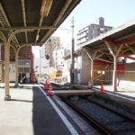 【阪堺】恵美須町駅2番線が使用停止…ポイントが剥がされる