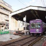 【嵐電】60年供用された北野白梅町駅がまもなく見納め、リニューアル工事を開始【10/28追記】
