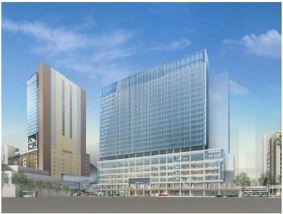 【JR西日本】大阪駅西側に高さ120mの新駅ビルを開発!JPタワーと直結へ