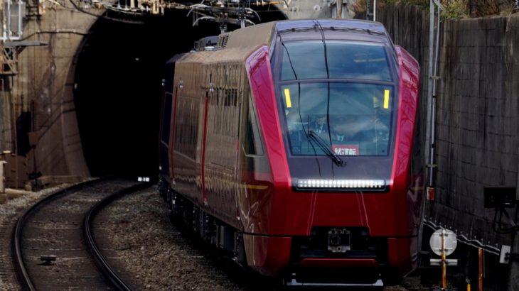 【近鉄】80000系HV01「ひのとり」、3月のデビューに向けて試運転中!