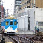 【2020.1】阪堺恵美須町駅の工事状況…駅舎工事が進む