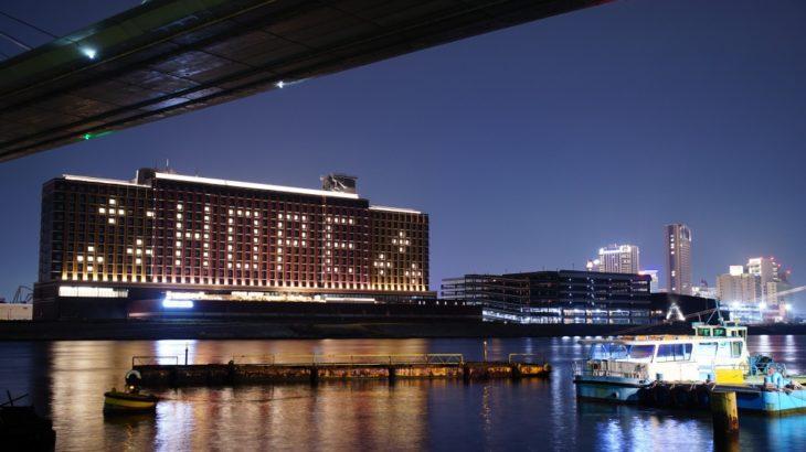 【希望のメッセージ】リーベルホテルUSJも連日ライトアップ中!