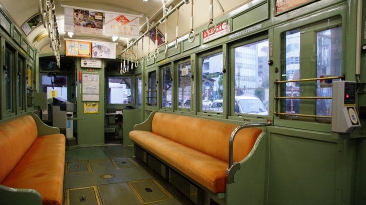 【記録写真】阪堺161形、車内デザインの記録
