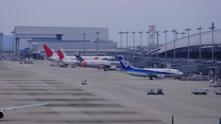 2019年の空港予算→羽田655億、成田81億、関空は31億……