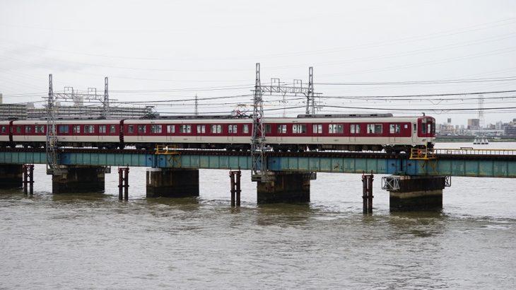 【阪神なんば線】水面ギリギリ解消へ!淀川橋梁架替工事の状況