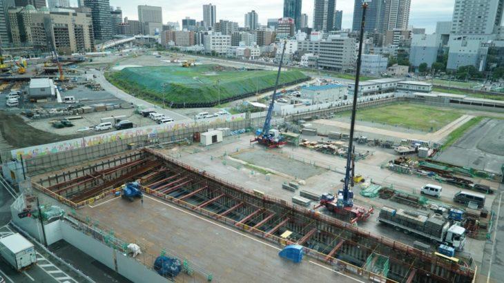 【2020/10】なにわ筋線 大阪駅(うめきた)の工事状況を見てきました