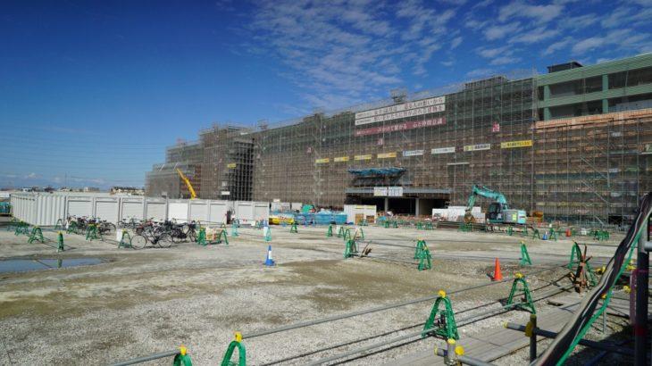 【松原SC】新業態「セブンパーク アリオ松原」!? 河内天美に建設中の松原天美SCを見てきました