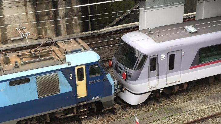 【西武】10000系「ニューレッドアロー」、富山へ甲種輸送開始!