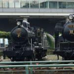 【鬼滅の刃】「無限列車」のモデル、8620形機関車が京都にあるので見てきました