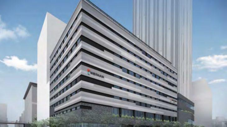 なんばパークス南側の「謎の遺跡」は京阪ホテルへ!2023年春開業