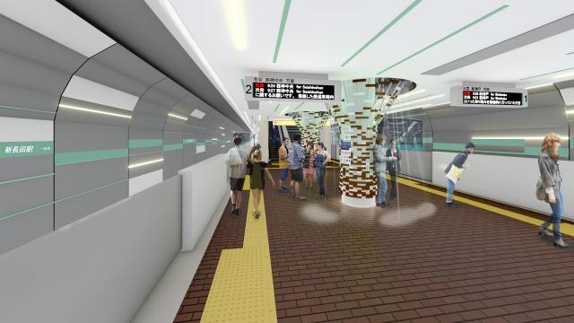 【神戸市営】新長田駅リニューアル→デザイン案を投票で決定へ