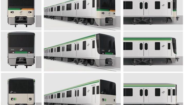 【仙台市営地下鉄】3000系のデザイン投票を実施!2024年に登場