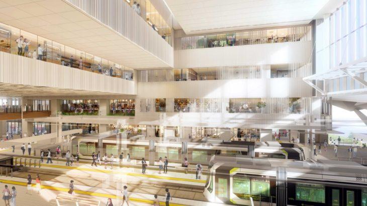 【何これすごい】広島駅、新ビルの広場デザインが決定!