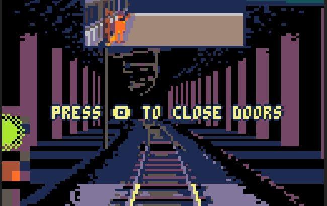 ドット絵の世界で電車運転ゲームを!無料ゲーム「Cab Ride」をやってみた