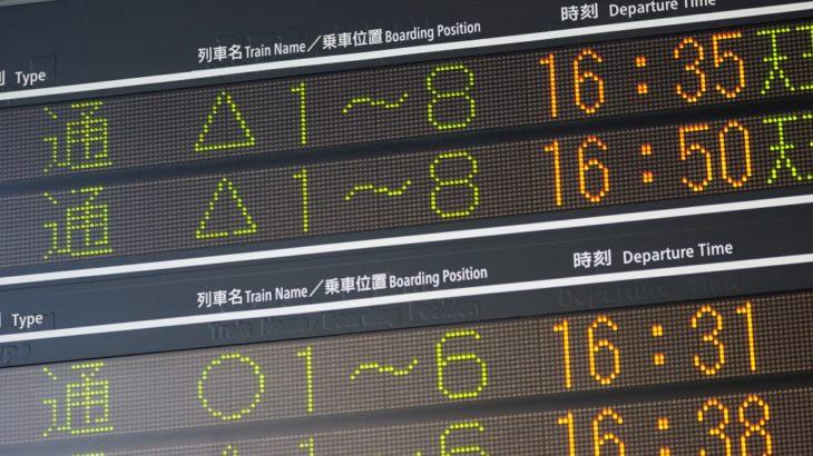 【JR西日本】大阪環状線の発車標に「○」が復活!323系運用に適用へ