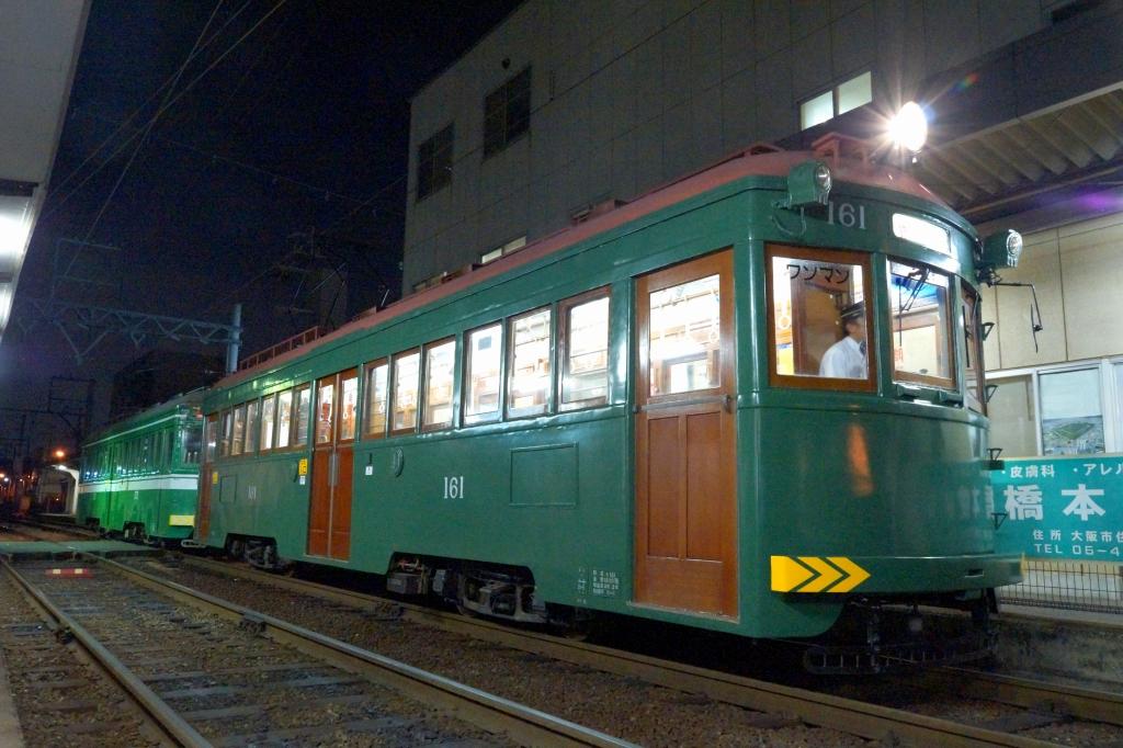 【阪堺】93歳の現役車両「モ161号」、クラウドファンディングを実施
