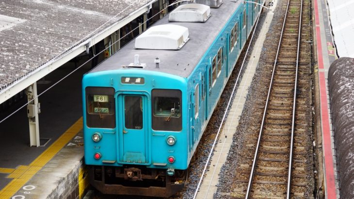【JR西日本】105系SF001編成、廃車回送される