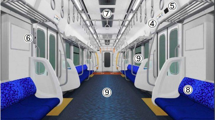 【JR東海】315系の車内デザインを発表!カーテンレス化、液晶ディスプレイの設置など