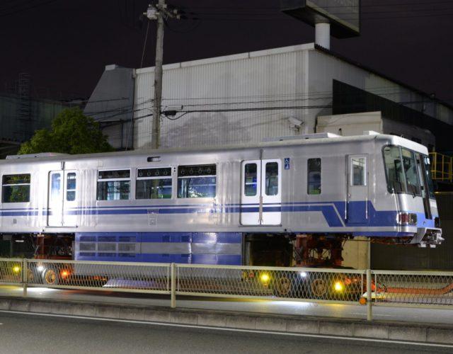 【大阪モノレール】1000系02編成が廃車陸送される