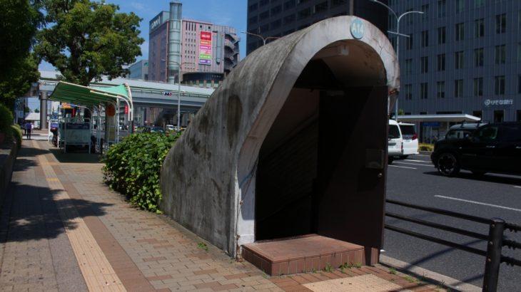 【神戸三宮】80年前から残るA14番「ガリバートンネル」