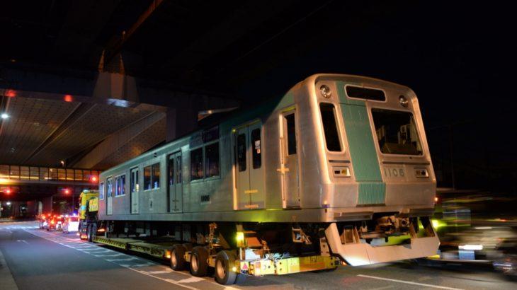 【速報】京都地下鉄烏丸線10系、廃車陸送がスタート