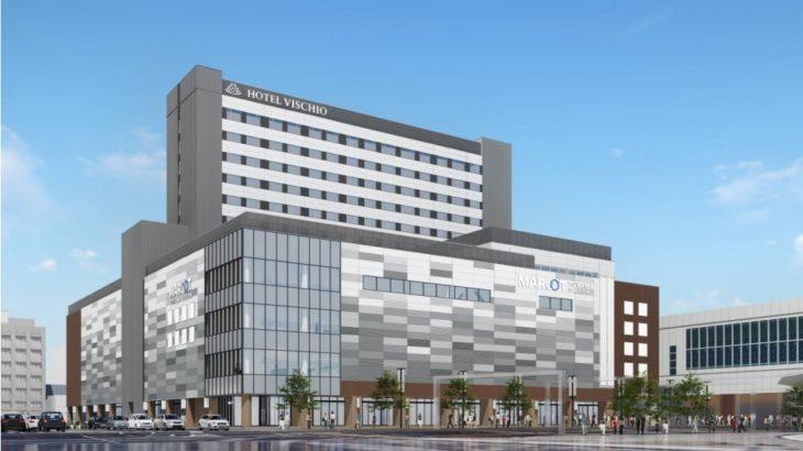 【JR西日本】富山駅前再開発ビル「MAROOT」のデザインを発表