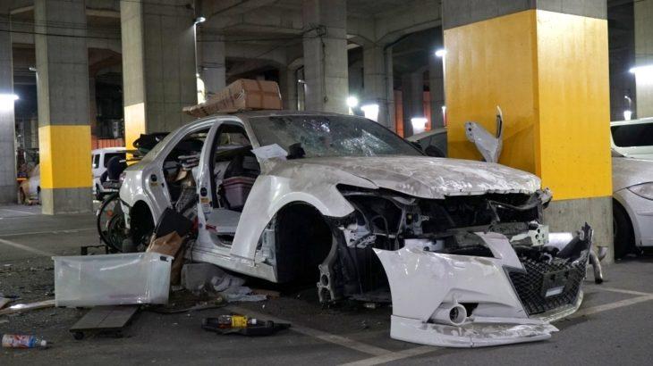 【治安悪】南海住ノ江高架下の駐車場(南海パーキング住ノ江)がやばすぎた
