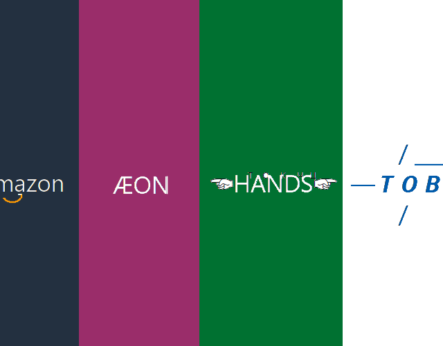 【コピペ用】「am͜a͉zon・ÆON・TOBU」…特殊文字を使ったロゴの出し方・再現方法