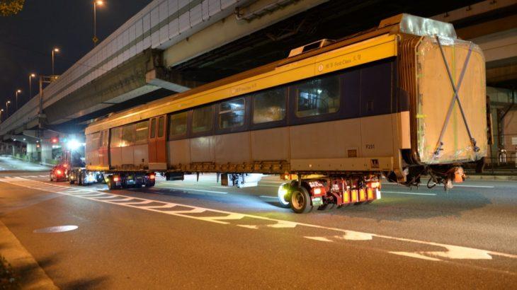 【香港MTR】SP1900形が日本に帰郷!